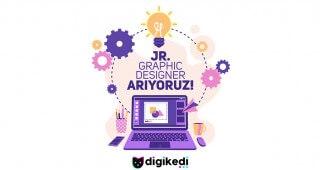 DIGIKEDİLEŞMEYE İSTEKLİ JR.GRAPHIC DESIGNER ARIYORUZ.