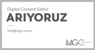 Digital Content Editor Arıyoruz.