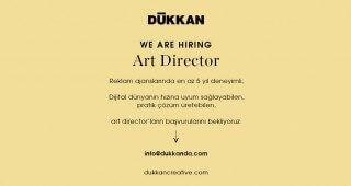 DÜKKAN CREATIVE, Art Director Arıyor!