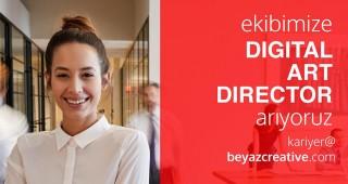 EKİBİMİZE DIGITAL ART DIRECTOR ARIYORUZ