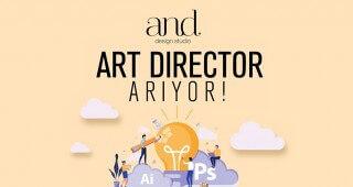 Enerjisi Yüksek Art Director Arıyoruz!