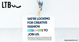 WE'RE LOOKING FOR CREATIVE FASHION DESIGNERS