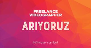 Freelance Videographer Arıyoruz!