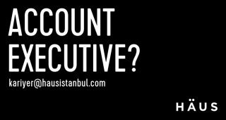 HAUS IS LOOKING FOR AN ACCOUNT EXECUTIVE