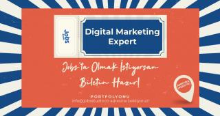 Jobs Studio, digital marketing expert arıyor!