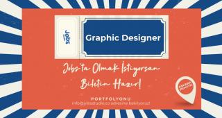 Jobs Studio, graphic designer arıyor!