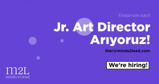 Jr. Art Director Arıyoruz.