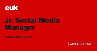 Jr. Social Media Manager Ekip Arkadaşları Arıyoruz.