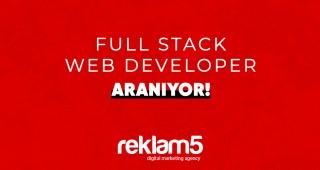Reklam5 Full Stack Web Developer Arıyor!