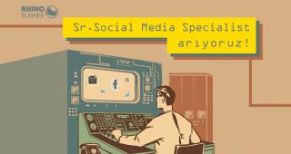 Rhino Runner Sr. Social Media Specialist arıyor!