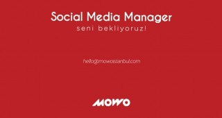 Social Media Manager Aranıyor...