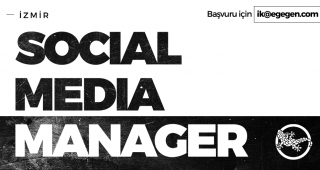 SOCIAL MEDIA MANAGER ARIYORUZ!