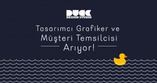 TASARIMCI GRAFİKER ve MÜŞTERİ TEMSİLCİSİ ARIYORUZ!