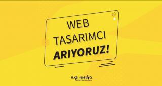 Web Tasarımcı Arıyoruz!