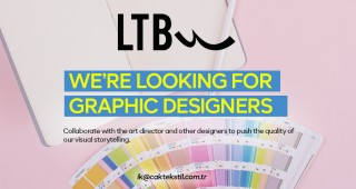 WE'RE LOOKING FOR GRAPHIC DESIGNERS