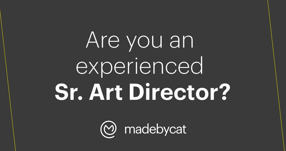 Are you an experienced Sr. Art Director?