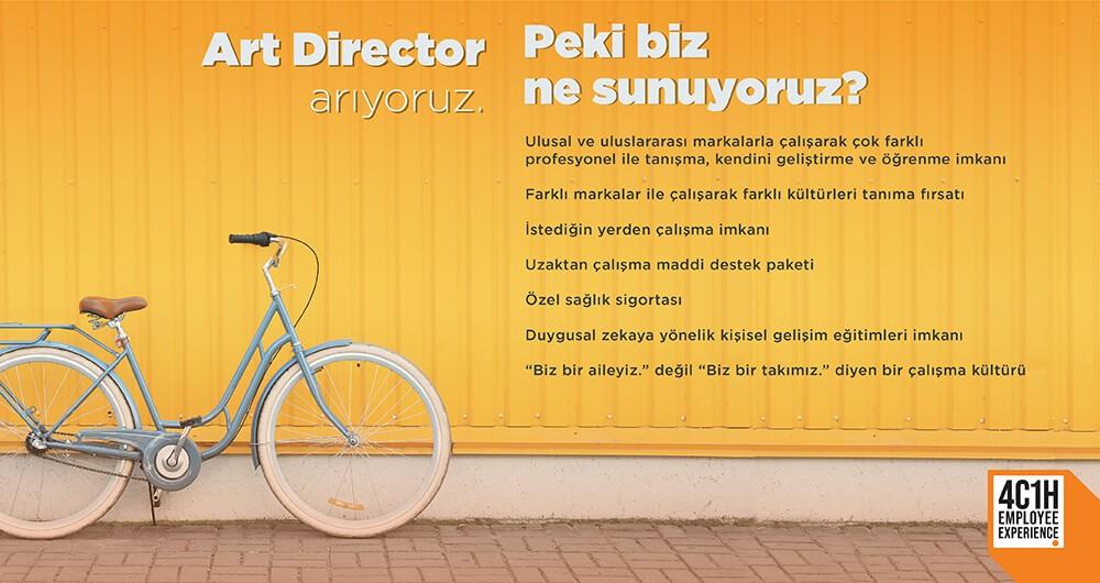 ART DIRECTOR ARIYORUZ!