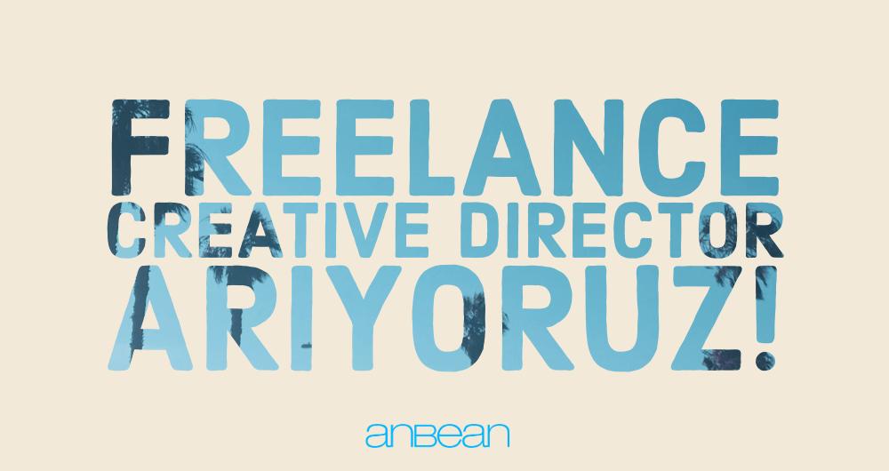 Freelance Creative Director Arıyoruz!