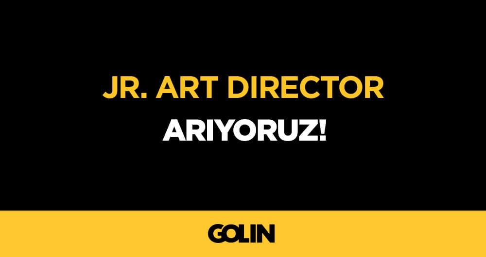 JR ART DIREKTOR ARIYORUZ!